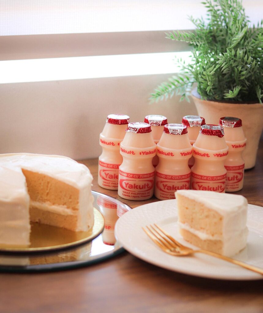 Yakult cake from melange.ph