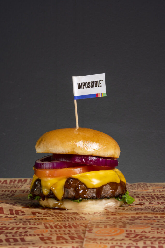 Impossible Burger (single patty)