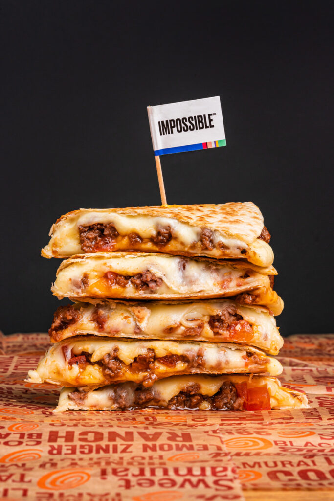 Impossible Quesadilla at Wing Zone