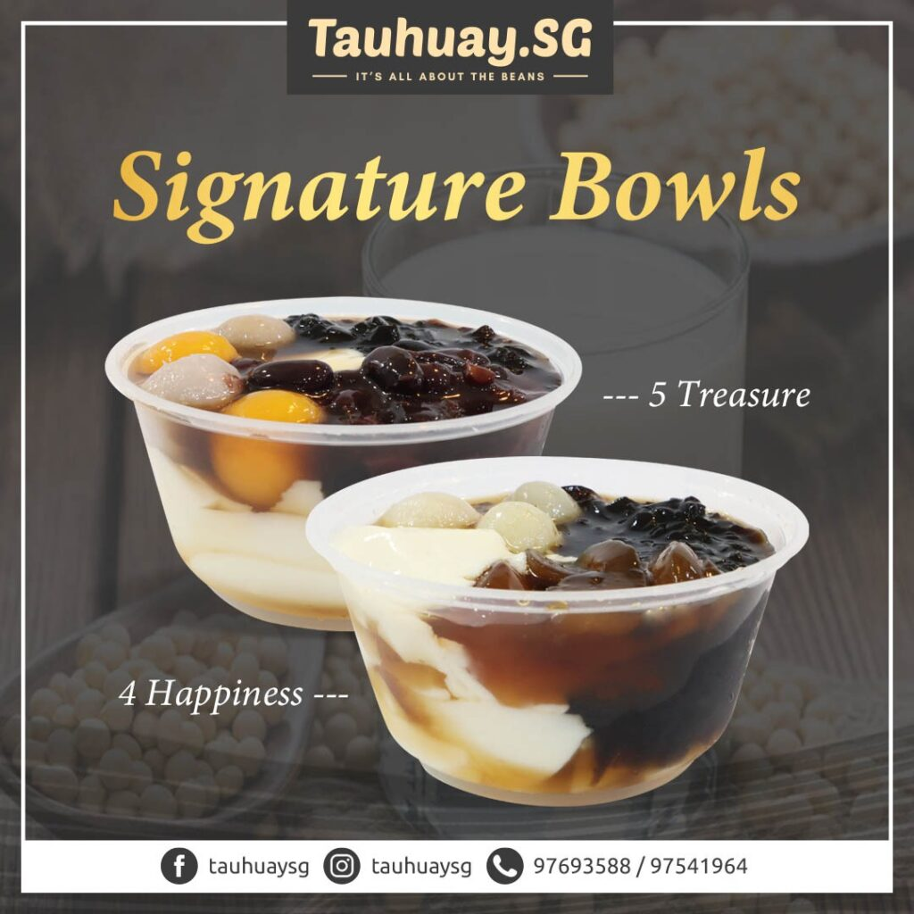 The signature items at tauhuay.sg