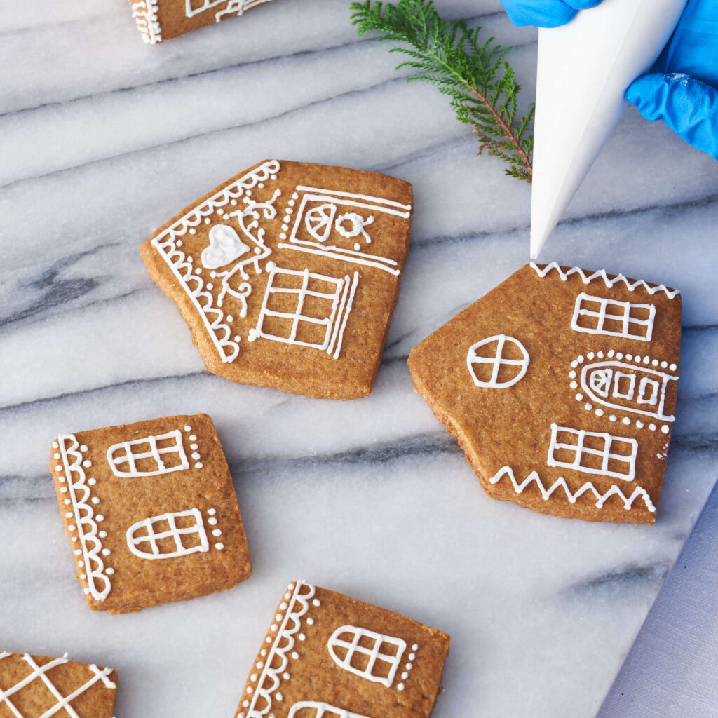 All Things Delicious Gingerbread House Kit