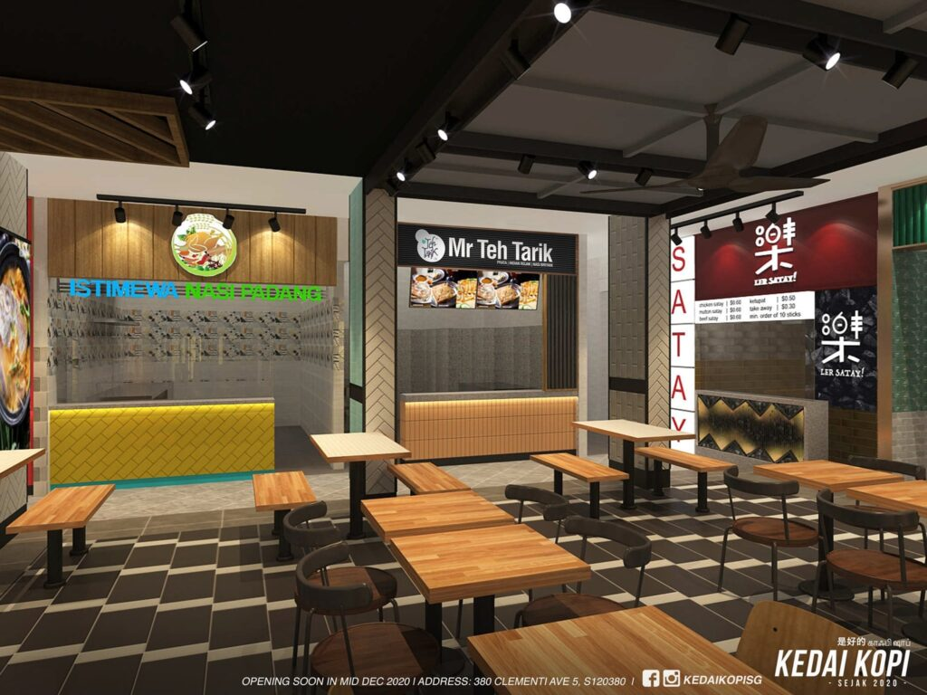 New food concept in Clementi